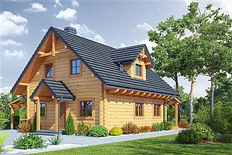 Projekt domu Rydzowo dw 5