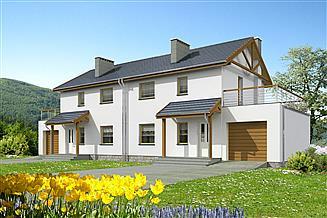 Projekt domu Glasgow II LMBL43