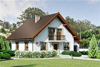 Projekt domu Dom przy Oliwkowej 2