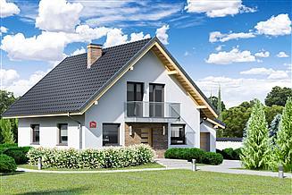 Projekt domu Dom przy Oliwkowej 2 N