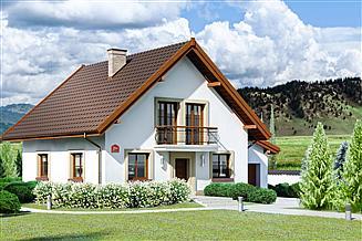Projekt domu Dom przy Oliwkowej 2 H