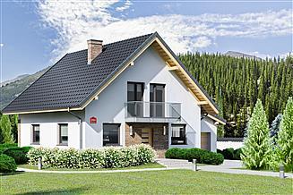Projekt domu Dom przy Oliwkowej 2 NH