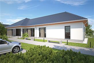 Projekt budynku usługowego Budynek usługowy Office 1 DCU04