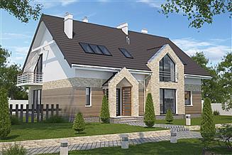 Projekt pensjonatu Budynek agroturystyczny Dąb 2 LMPS02a