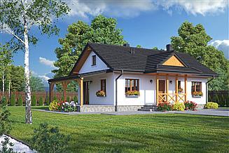 Projekt domu Zawoja dws 17t