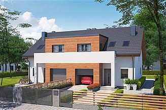 Projekt domu Eco 12 dwulokalowy