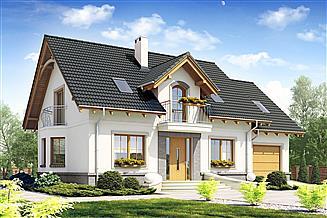 Projekt domu Dom Dla Ciebie 1 z garażem 1-st. [A]