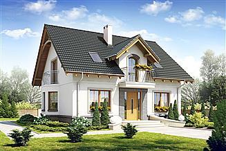 Projekt domu Dom Dla Ciebie 1 bez garażu [B]