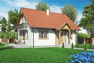 Projekt domu Domek domek Prosty ES (009 ES)