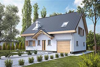 Projekt domu Iskierka I