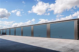 Projekt garażu G329 - Budynek garażowy