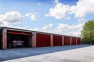 Projekt garażu G330 - Budynek garażowy