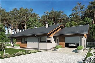 Projekt domu Kos IV Sz