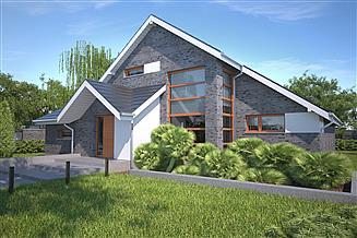 Projekt domu Lagos V DCP117d