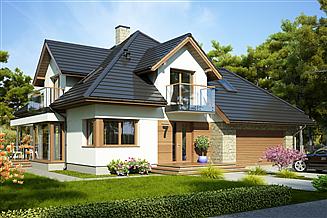 Projekt domu Hermiona Nowa II