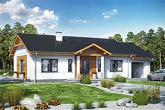 Projekt domu Terrier 3 z garażem
