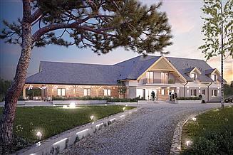Projekt pensjonatu Libera Pensjonat, Hotel, Dom weselny