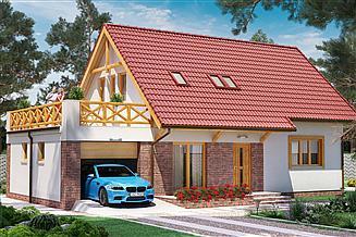 Projekt domu BW-03 wariant 7