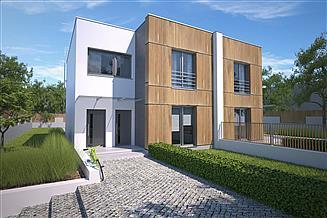 Projekt domu Springfield III DCBL44
