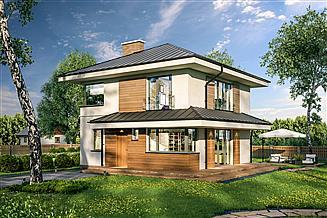 Projekt domu Murator C364 Melodyjny