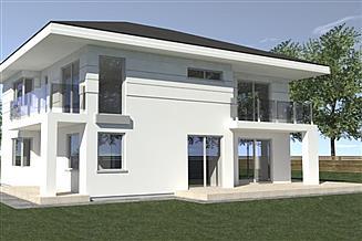 Projekt domu DN 015d