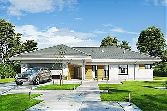 Projekt domu Parterowy 2