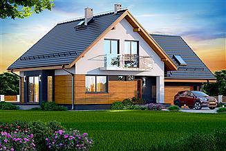 Projekt domu Noelia BIS 2M z wykuszem