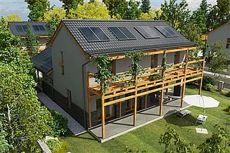 Projekt domu Balkonowy