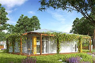 Projekt domu Kopertowy