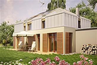 Projekt domu Mansarda