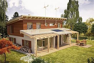Projekt domu Solarny