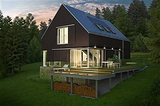 Projekt domu Widokowy