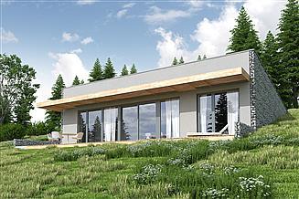Projekt domu Z widokiem na słońce