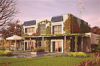 Projekt domu Zielony