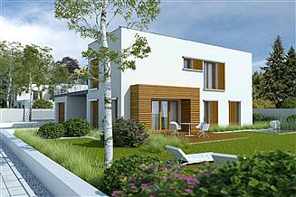 Projekt domu Zielony taras