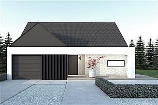 Projekt domu A-32