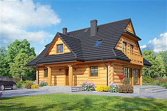 Projekt domu Bukowina 3 dw
