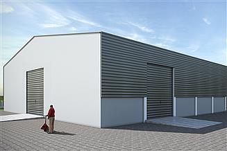 Projekt budynku inwentarskiego Magazyn zboża Gama