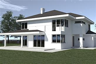 Projekt domu DN 021k
