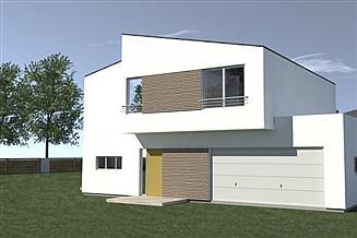 Projekt domu DN 201