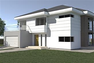 Projekt domu DN 214