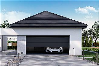 Projekt garażu HomeKoncept-G 02