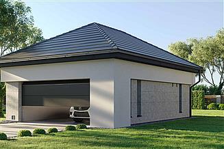 Projekt garażu HomeKoncept-G 04