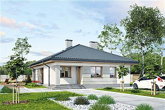 Projekt domu Murator M216 Skryta tęsknota