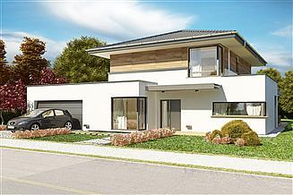 Projekt domu AJR_27_A2