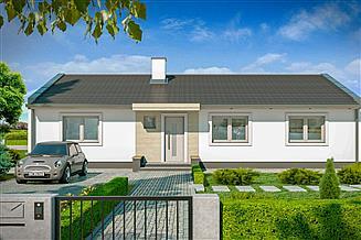 Projekt domu Simple 4A