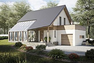 Projekt domu Ekotypowy 25
