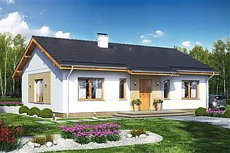 Projekt domu Terrier 5 bez garażu