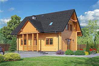 Projekt domu Zawoja 20 dw