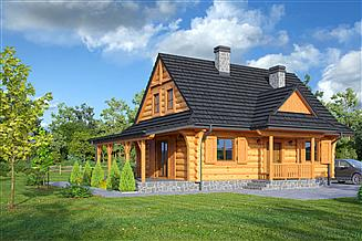 Projekt domu Zawoja dw 21